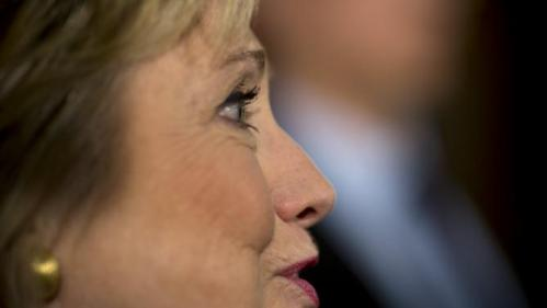 U.S. Democratic presidential candidate Hillary Clinton attends a community forum on counter terrorism and homeland security in Los Angeles, California March 24, 2016. REUTERS/David McNew