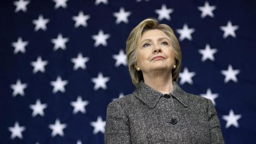 Democratic presidential candidate Hillary Clinton waits to be introduced during a rally at Western Technical College in La Crosse, Wis., Tuesday, March 29, 2016. (AP Photo/Patrick Semansky)