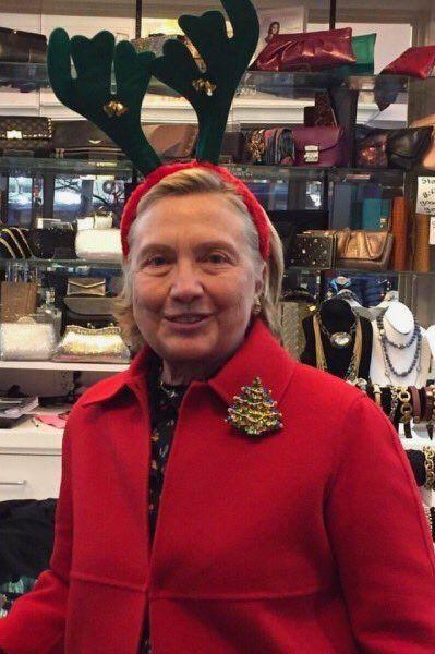Hillary Clinton Christmas.Merry Christmas Hillary Clinton Still4hill